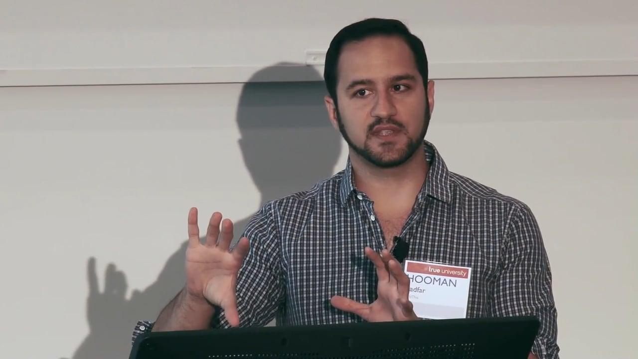 Hooman Radfar, Founder & Chairman AddThis