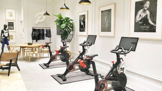 Peloton Retail Showroom