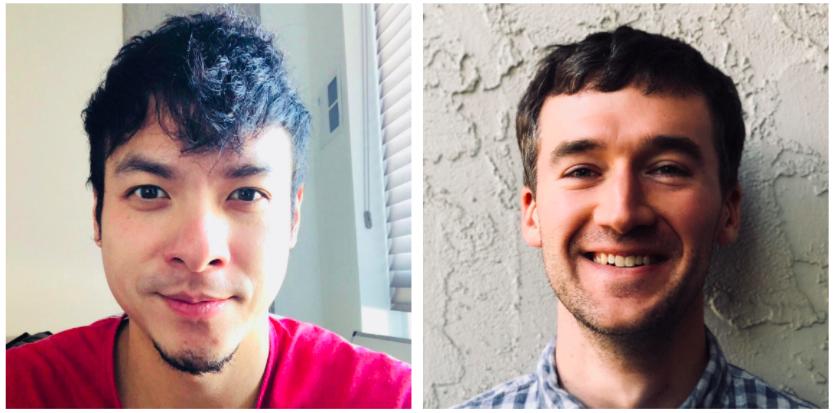Evan Kuo and Brandon Iles